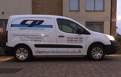 gravesend carpet cleaner's van